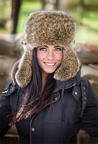 d63bbcca4b6 Rabbit Fur Winter Hats